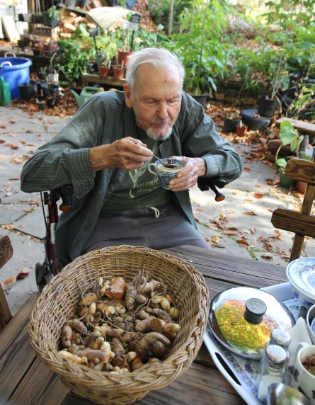 Jim duke samples his Viroxymel