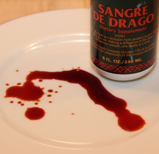 Dragon's blood, Sangre de Draco, Croton lechleri