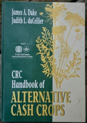 CRC Handbook of Atlernative Cash Crops 1993