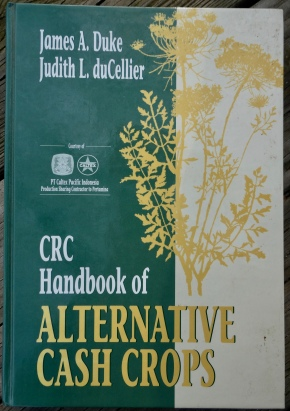 CRC Handbook of Atlernative Cash Crops 1993